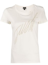 Just Cavalli Embroidered Logo T Shirt 60