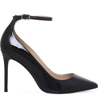 Kg By Kurt Geiger Estha Patent Leather Courts Black