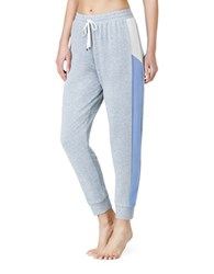 Kensie French Terry Jogger Sleep Pants Grey
