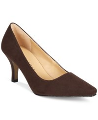Karen Scott Clancy Pumps Only At Macy's Women's Shoes Brown