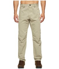 The North Face Campfire Pants Granite Bluff Tan Men's Casual Pants White