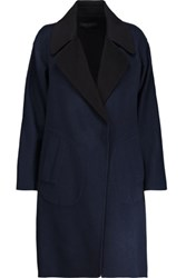 Rag And Bone Thelma Wool Felt Coat Midnight Blue