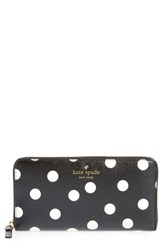 Women's Kate Spade New York 'Cedar Street Lacey' Dot Zip Around Wallet