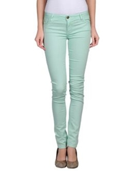 Maison Espin Casual Pants Azure