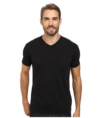 Agave Denim Agave Hi V Supima Tee Caviar Black Men's T Shirt