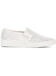Michael Michael Kors Perforated Sneakers White