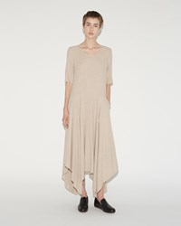 Raquel Allegra Handkerchief Maxi Dress Desert