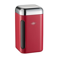 Wesco Square Canister 1.65L Red