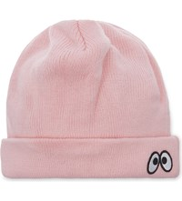 Mini Cream Monster Beanie Pink