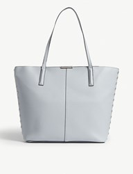 Aldo Romeu Faux Leather Tote Light Blue