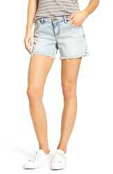 Kut From The Kloth Women's Gidget Fray Hem Denim Shorts