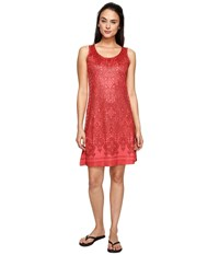 Aventura Clothing Hollis Dress Spiced Coral Women's Dress Orange