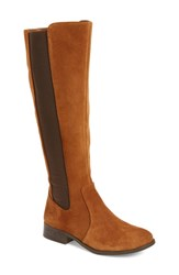 Jessica Simpson Women's 'Ricel' Riding Boot Black Suede