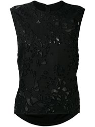 Petar Petrov Embroidered Blouse Black