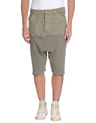 Bad Spirit 3 4 Length Shorts Military Green