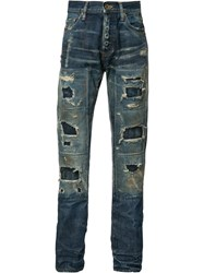 Prps Destroyed Jeans Blue