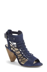 Women's Vince Camuto 'Evel' Leather Sandal Midnight