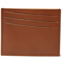 Maison Martin Margiela Leather Cardholder Tan