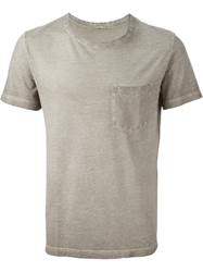 Massimo Alba 'Panarea' T Shirt Brown