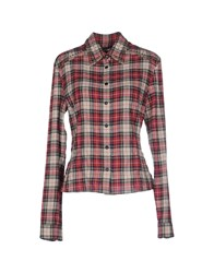 Prada Sport Shirts Shirts Women Red