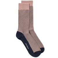Oliver Spencer Miller Sock Pink
