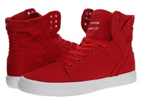 Supra Skytop D Red White Men's Skate Shoes