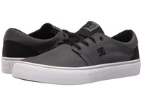 Dc Trase Tx Charcoal Black Skate Shoes
