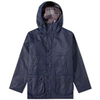 Barbour Sl Bedale Hooded Wax Jacket Japan Collection Blue