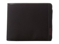 Tumi Alpha Global Center Flip Id Passcase Black Wallet