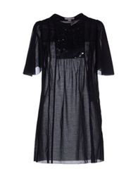 Laurel Short Dresses Black