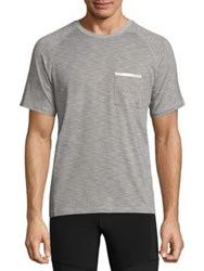 Mpg Ignite 2.0 Striped Pocket Tee Concrete