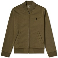 Polo Ralph Lauren Tech Fleece Bomber Jacket Green