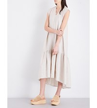 Rachel Comey Ethridge Linen Midi Dress Natural