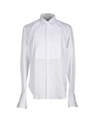 Trussardi Shirts Shirts Men White