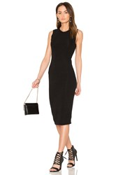Blq Basiq Hacci Midi Tank Dress Black