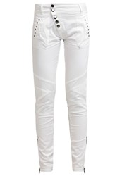 Cream Sassy Trousers Chalk Off White