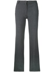 Armani Jeans Straight Trousers Grey