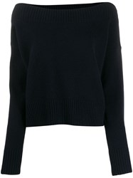 P.A.R.O.S.H. Knitted Jumper Blue