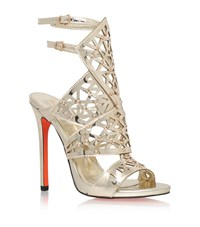 Carvela Kurt Geiger Goose Cut Out Sandal Female Gold