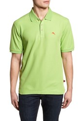 459f8bb61 Tommy Bahama 'The Emfielder' Original Fit Pique Polo Caicos Green