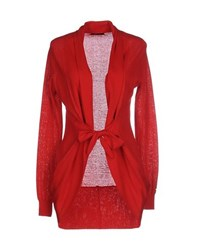 G.Sel Knitwear Cardigans Women Red