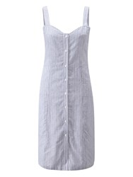 Henri Lloyd Effie Button Down Dress Blue