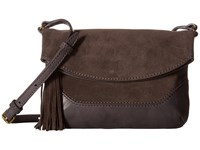 Frye Paige Small Crossbody Smoke Top Handle Handbags Gray