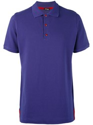 Kiton Classic Polo Shirt Men Cotton Xxl Blue