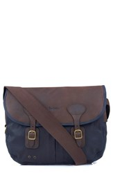 Barbour Men's Waxed Canvas Tarras Bag