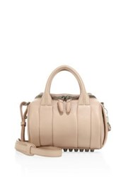 Alexander Wang Rockie Mini Leather Duffel Bag Pale Pink