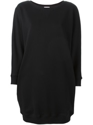Saint Laurent Short Sweater Dress Black