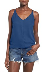 Junior Women's Bp. V Neck Crepe Camisole