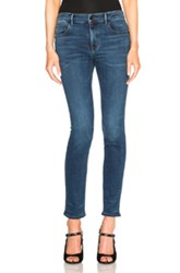Helmut Lang Ankle Skinny Jeans In Blue