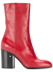 Laurence Dacade Sailor Boots Red